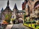 Замок РАЙХСБУРГ Германия Reichsburg romantische Burg Mosel