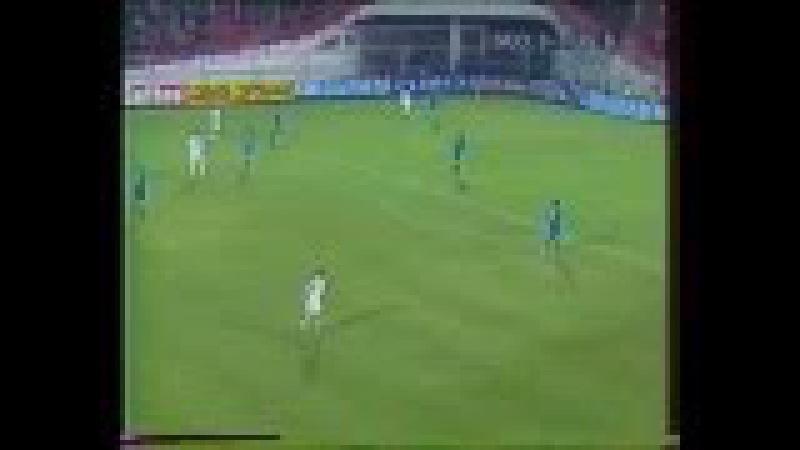 Грузия - Россия. Отборочный матч ЕВРО-2004 - прерванный
