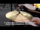 Zildjian Sound Effects Azuka Sombrero Hi-Hats 14'' - The Drum Shop North Shore