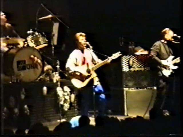David Bowie/Tin Machine live 1991 Brixton