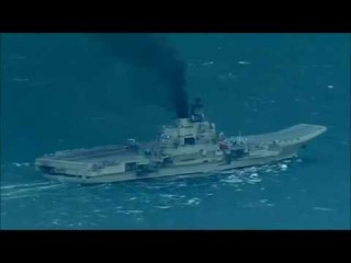 Russian aircraft carrier Admiral Kuznetsov Russian ships passing through the English Channel