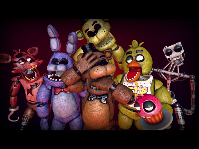 FNaF Generations (ALTERNATIVE) | FNaF Speedart (SFM)