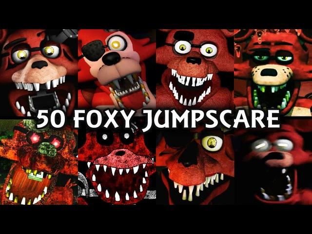50 FOXY JUMPSCARES! | FNAF Fangame