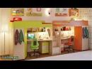 Детская комната и двухъярусная кровать Легенда 14 . Мебель. Интернет-магазин Лайтик