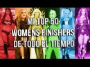 Top 50 WWE Women's Finishers (Of All Time/De todo el tiempo) | MB WRESTLING