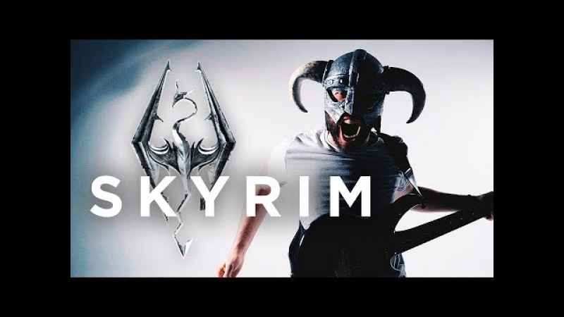 SKYRIM THEME - Dragonborn (METALROCK COVER by Jonathan Young)
