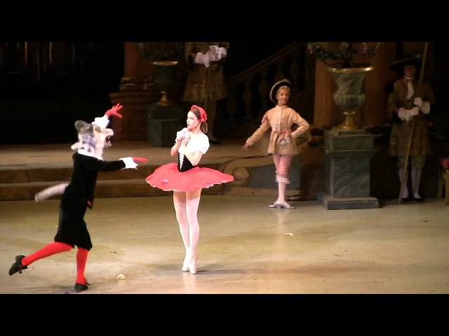 Marvelous Margarita Frolova as Ravishing Red Riding Hood Mariinsky Ballet Sleeping Beauty