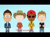 Prepositions Sing Along Song - HD Version