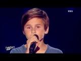 The Voice Kids 2015 Martin - Qui a le droit (Patrick Bruel) Blind Audition