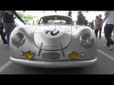 Porsche 356 SL Coupe - Motor Sound - Le Mans @ Zuffenhausen 2016