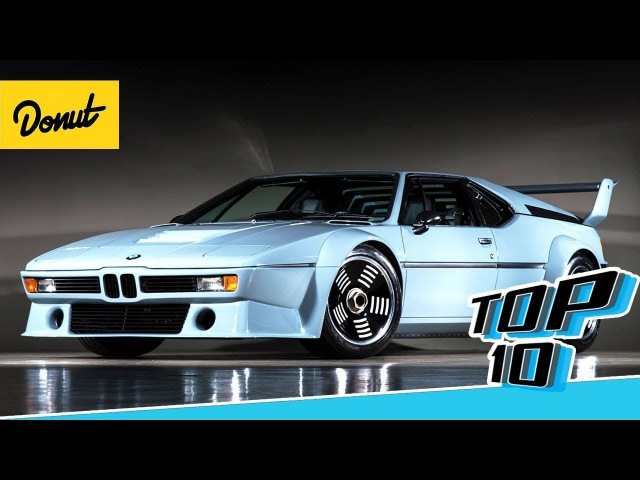 Top 10 Supercars From the 80s   Donut Media