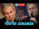 Steve Bannon DESTROYS George W. Bush and John McCain in NEW Speech at California GOP meeting
