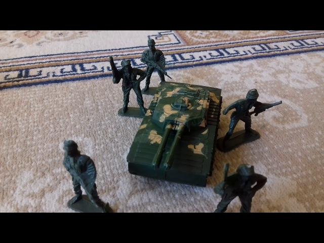 Атака на американский конвой Ирак солдатики
