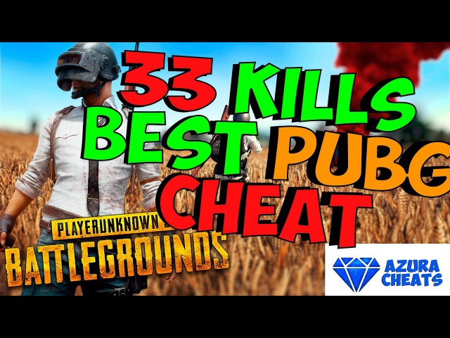 TOP 1 PUBG CHEAT 33 KILLS AZURA HACK