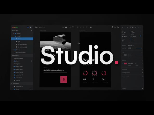 Introducing InVision Studio—the world's most powerful screen design tool
