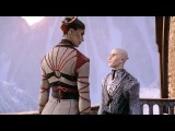 Solas x Female Qunari Romance Balcony Kiss Dragon Age Inquisition (Bi Solas Mod)
