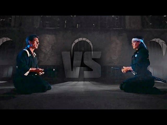 Самурай Эндрю Коллинз против Марка Дакаскоса (Кенжиро) | Andrew Collins vs Kenjiro (Mark Dacascos)
