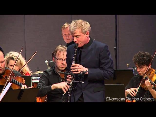 Martin Fröst | Norwegian Chamber Orchestra - Witold Lutosławski Dance preludes for clarinet, harp, piano strings, 5. Allegro molto