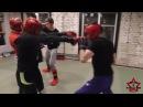 Тренировка от 12 января, кикбоксинг спарринги
