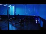 Студия танца ZASTEKLOM новый год 2017 (Exotic кукольный ) тренер ShuMarina