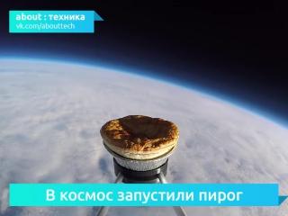 В космос запустили пирог с картошкой и мясом