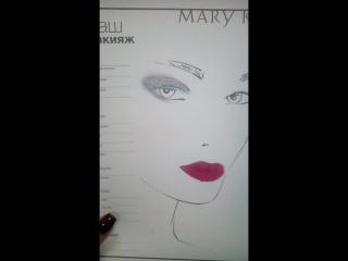 макияж Королева ночи 2