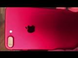 Видео отзыв iPhone 7 RED
