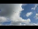 Красиво летят вертолёты над Кудрово
