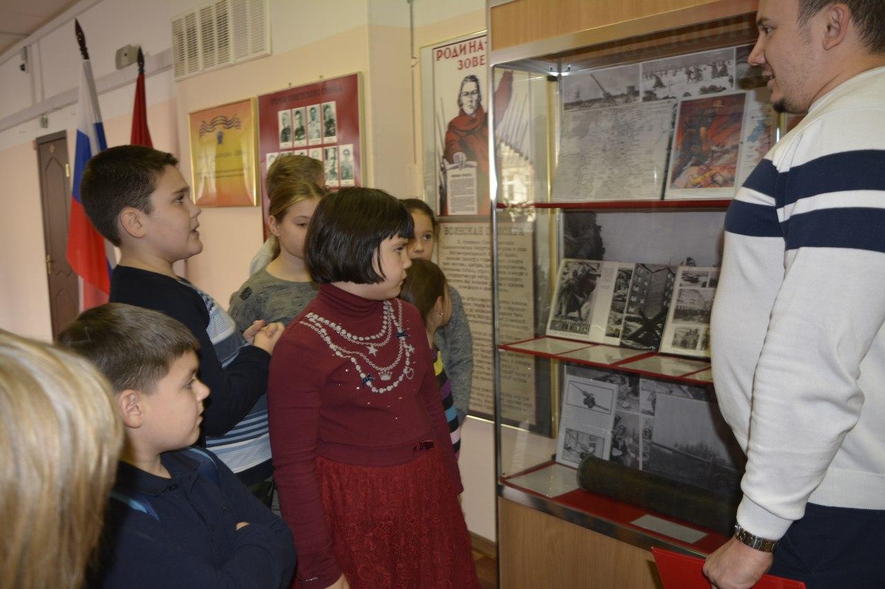 экскурсия по военно-историческому музею колледжа №24