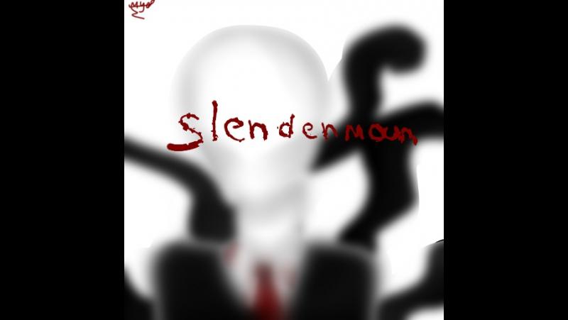 -Speedpaint- слендермен-Slenderman