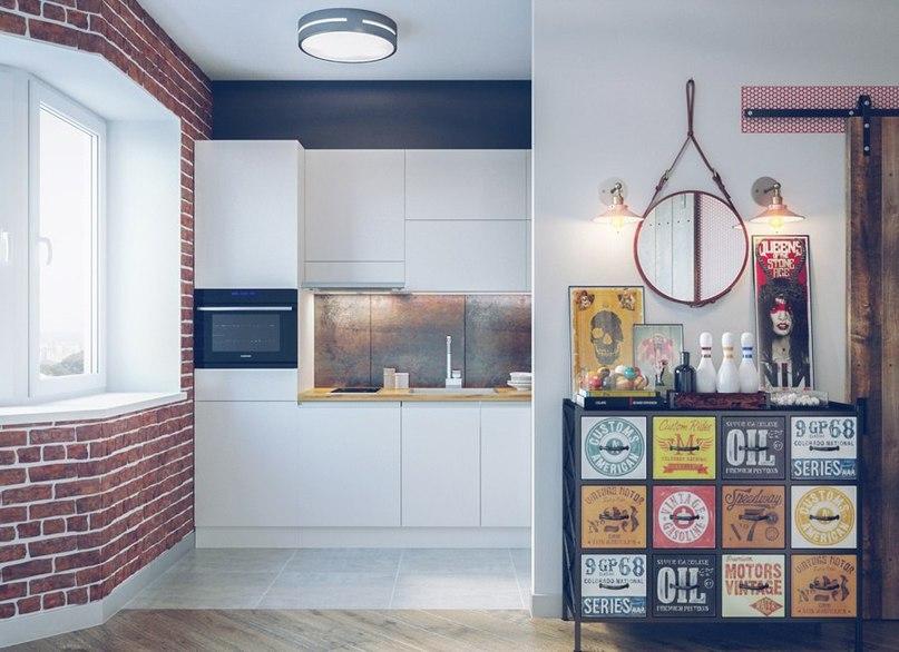 Проект однокомнатной квартиры площадью 41 кв м