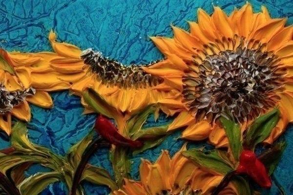 Объемная живопись от Джастина Геффри