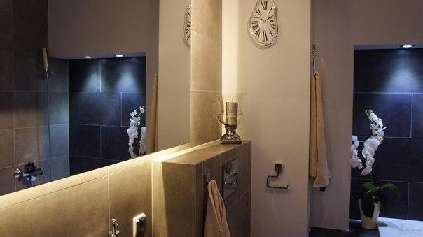 Дизайн интерьера маленькой однокомнатной квартиры. Общая площадь