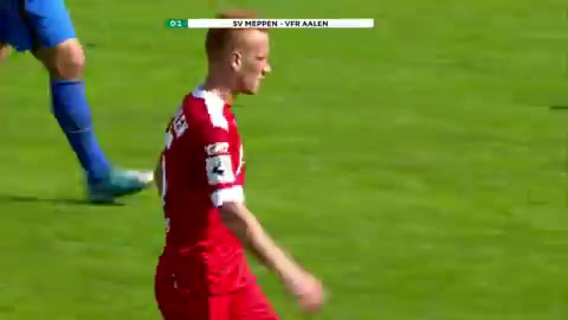 Highlights SV Meppen vs. VfR Aalen