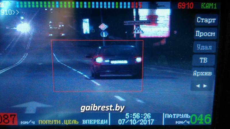 """Инспектор ГАИ задержал пьяного водителя """"автомобиля-призрака"""""""