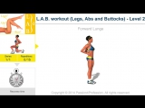 L.A.B. workout (Legs, Abs and Buttocks) - Level 2 - Passion4Profession