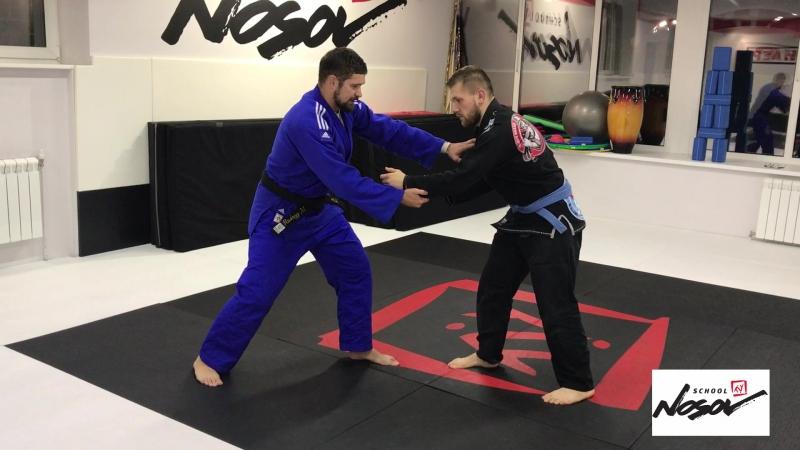 Выхват за пятку от Максима Рундного bjf_judo bjf_нашилюди