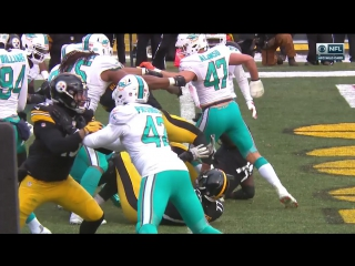 NFL 2016-2017 / Wild Card / Miami Dolphins - Pittsburgh Steelers / Condensed Games / Сжатые игры / EN