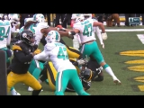 NFL 2016-2017 / Wild Card / Miami Dolphins - Pittsburgh Steelers / Condensed Games / Сжатые игры / EN