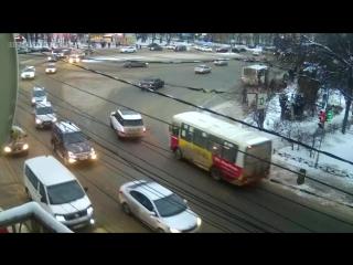 ▶ T-71 - 19.01.17 - Наезд на пешехода