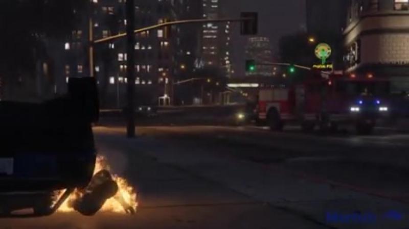 Пожарный на помощь