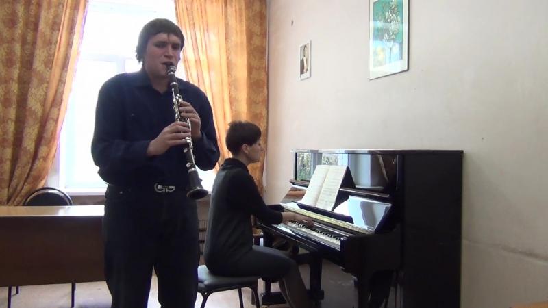 К.М. Вебер концертино исп. Сергей Шахов
