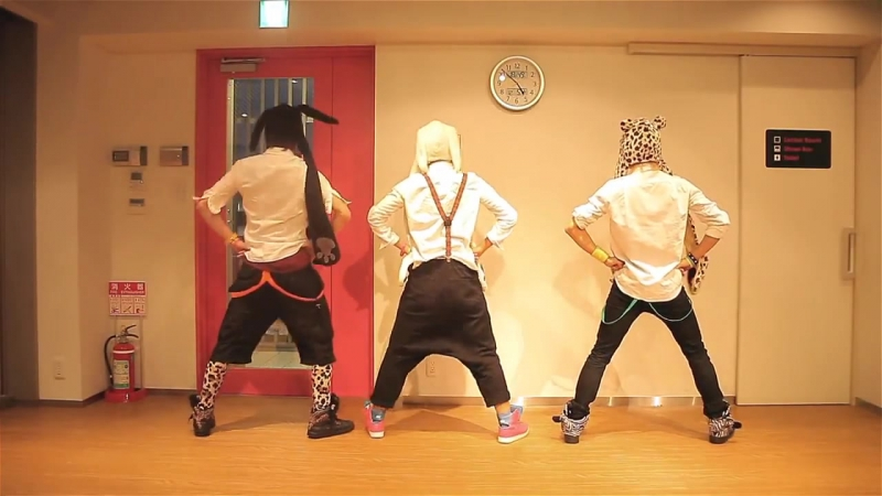Miume Ry ☆ Melochin Tried dancing Mighty Bomb Jack Niconico Video album Ry☆