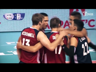 TOP 15 Best Volleyball Actions by TJ Defalco - FIVB Volleyball World League 2017