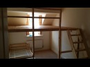 HOW TO MAKE A LOFT BED BUNKBED LARGE DIY LOFTBED CONSTRUCTION WALL TO WALL £100