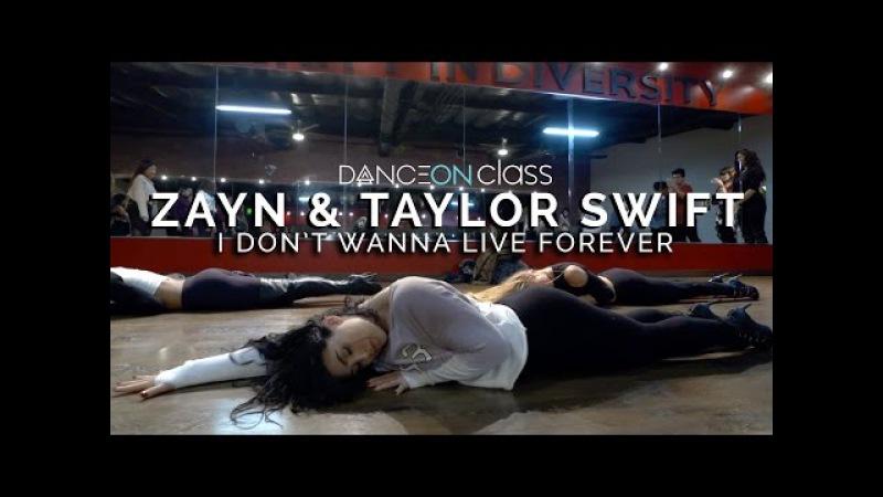 ZAYN Taylor Swift - I Don't Wanna Live Forever (Fifty Shades Darker) | Brinn Nicole Choreography