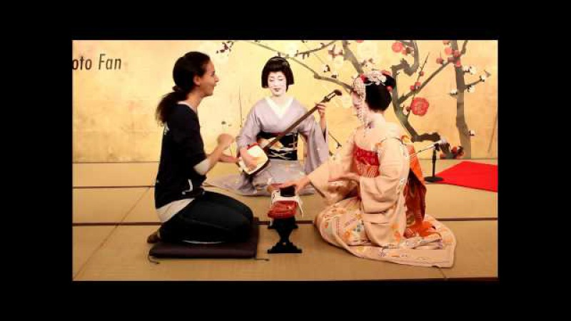 Maiko Spring 2012: Konpira Fune Fune, Geisha Dinner Games 【HD】