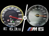 Mercedes E63 AMG 2017 vs BMW M6 2017 ACCELERATION TOP SPEED 0-300kmh AUTOBAHN POV by AutoTopNL