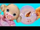 Куклы пупсики / дочки матери / беби бон / беби элайв / кукла катя обкакалась