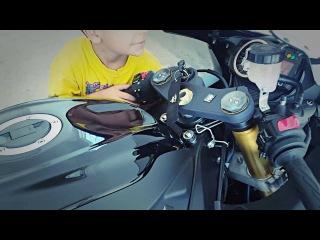 2016 GSX-R750 Stock Exhaust vs TOCE Exhaust
